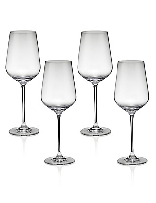 4 Nova Red Wine Glasses Home