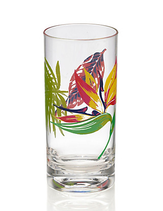 Rio Acrylic Hi Ball Glass Home