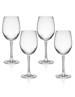 4 Andante Red Wine Glasses Home