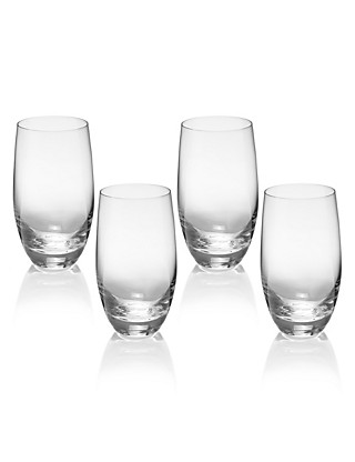 4 Barrel Hi Ball Glasses Home