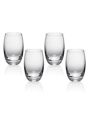 4 Barrel High Ball Glasses