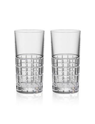 2 Linear Hi Ball Glasses Home