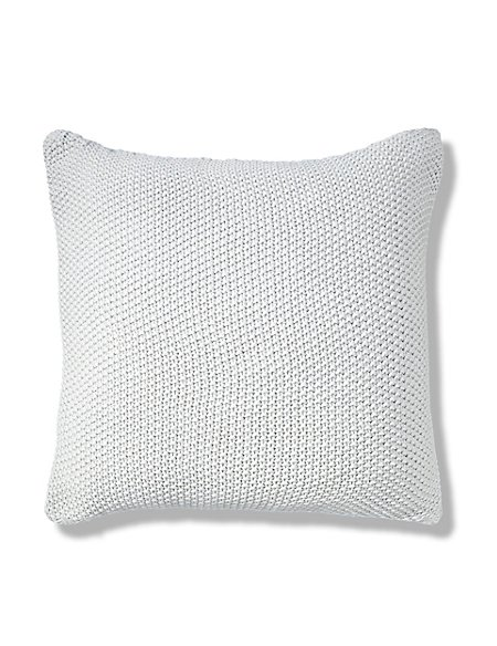 Moss Stitch Cushion