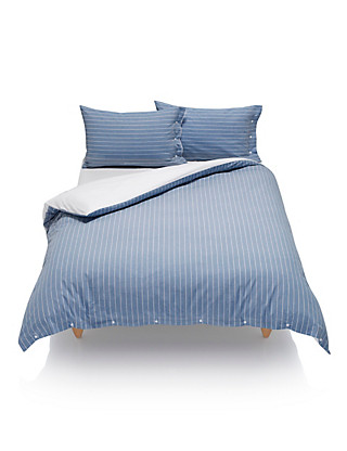 Striped Bedding Set Home