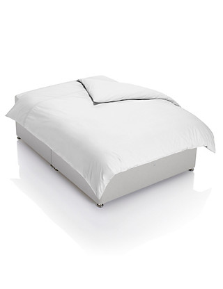 Cotton Rich Percale Duvet Cover Home