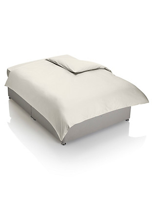Luxury Egyptian Cotton with Satin Finish Duvet Cover - 400 Thread Count Home