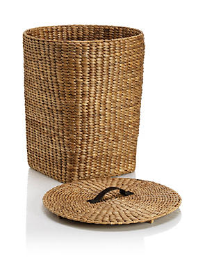 Water Hyacinth Laundry Basket