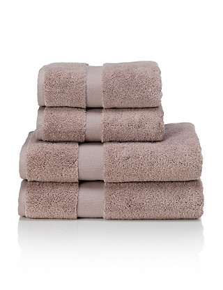 4 Cotton Quick Dry Bale Towels Home