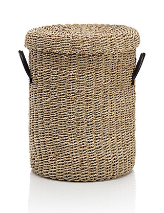 Seagrass Laundry Basket Home