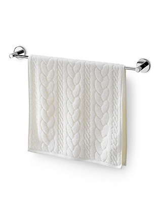 Cable Striped Towel Home