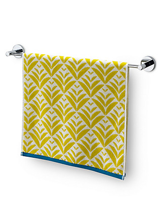 Pure Cotton Geometrical Design Towel Home