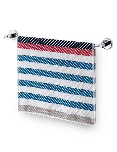 Geometric Striped Towel
