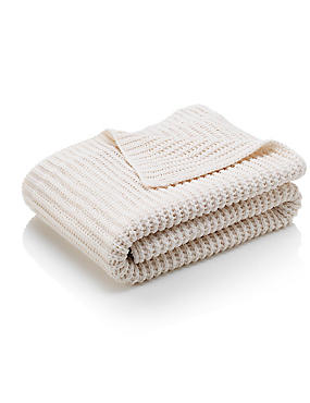 Chenille Knitted Throw