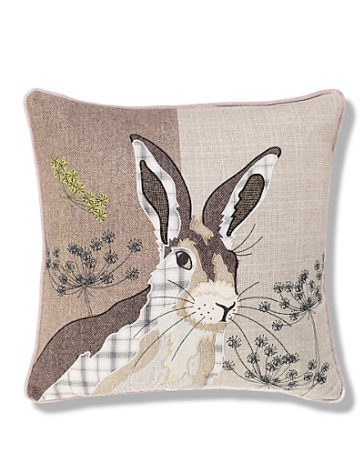 Hermione hare print cushion m s