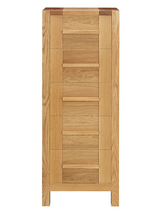 Sonoma Light 5 Drawer Tallboy Furniture