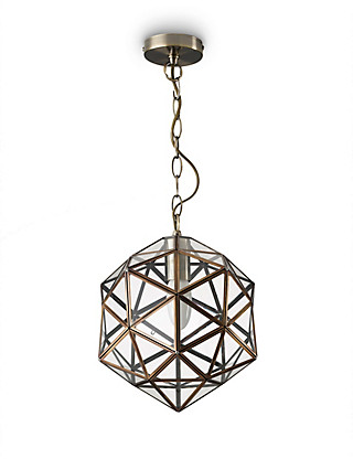 Glass Star Hanging Pendant Home