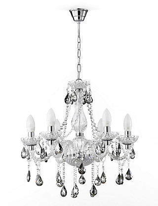 Romance Glass Chandelier Home