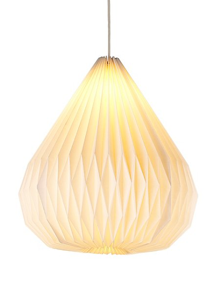 Folding droplet paper ceiling lamp shade ms folding droplet paper ceiling lamp shade mozeypictures Image collections