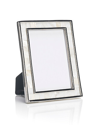 Mother of Pearl Photo Frame 10 x 15cm (4 x 6'') Home