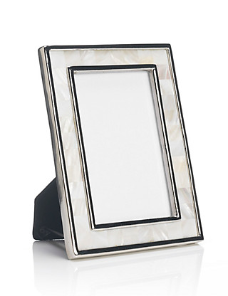 Mother of Pearl Photo Frame 13 x 18cm (5 x 7'') Home