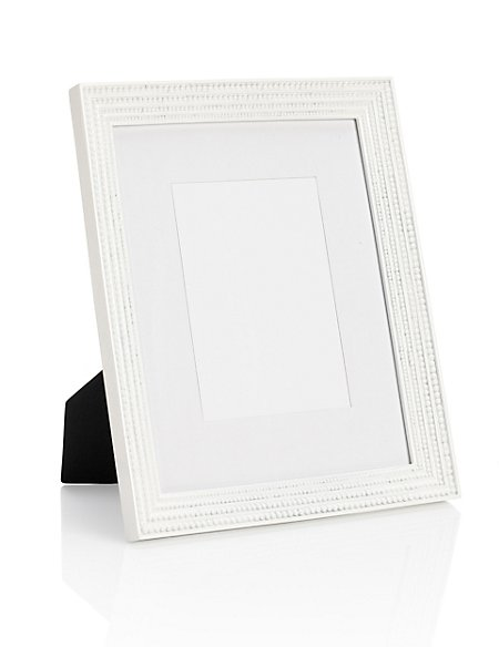 Bobble Resin Photo Frame 13 x 18cm (5 x 7'')