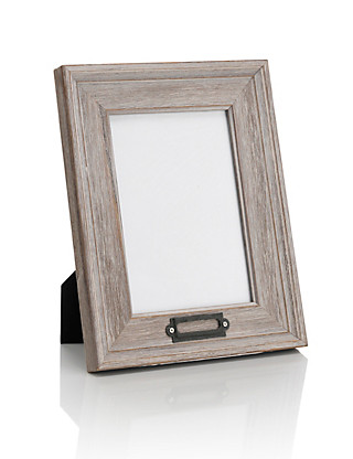 Distressed Photo Frame Home