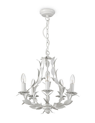 5 Arm Trailing Leaf Chandelier Home
