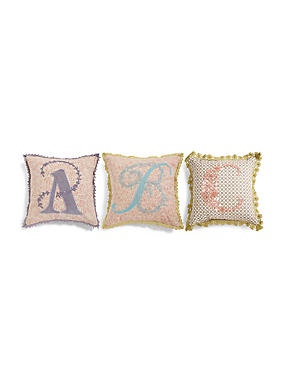 A-Z Individual Letter Cushions