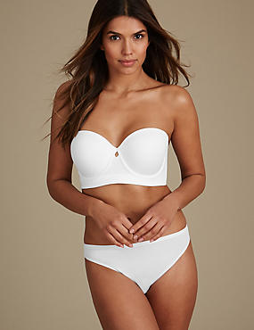 Strapless Set with Padded A-DD