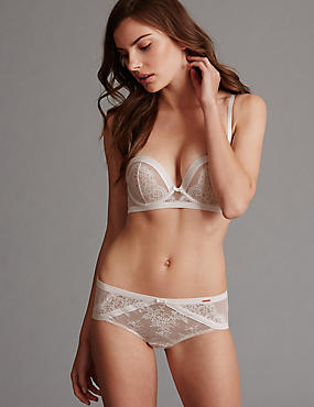 Lisette Lace Set with Multiway Padded Balcony A-DD