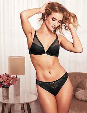 Silk & Lace Set with High Apex A-E