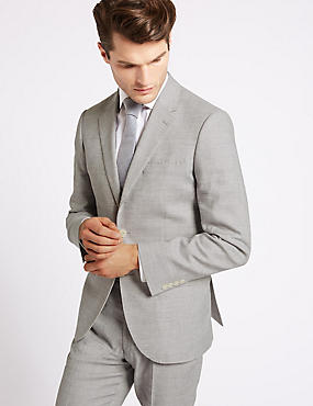 Linen Miracle Tailored Fit Suit