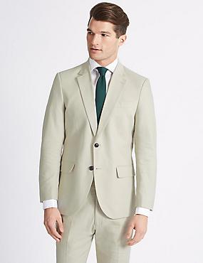 Big & Tall Beige Regular Fit Suit, , catlanding