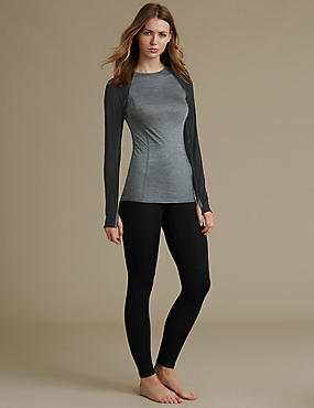 Thermal Long Sleeve Top & Leggings Set