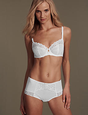 Ophelia Embroidered Set with Non-Padded Balcony B-DD