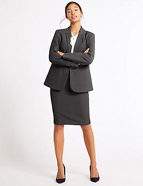 Jacket & Skirt Suit Set