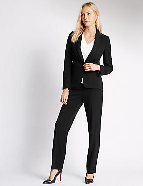 Longline Blazer & Trousers Set