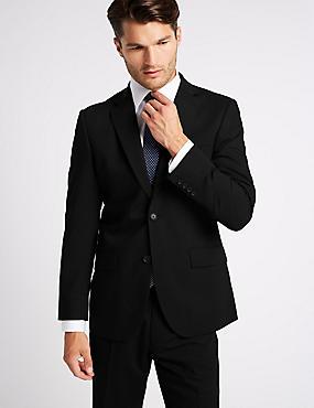 Big & Tall Black Regular Fit Suit, , catlanding