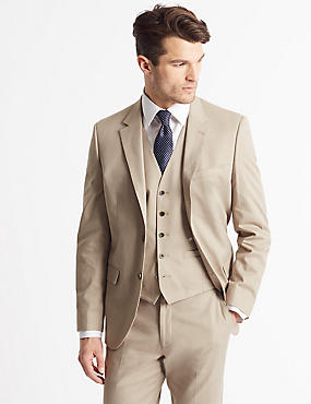 Tailored Fit 3 Piece Suit, , catlanding