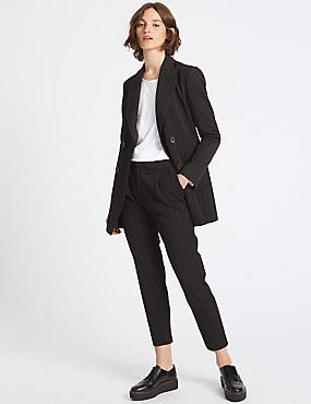 Striped Blazer & Trousers Set