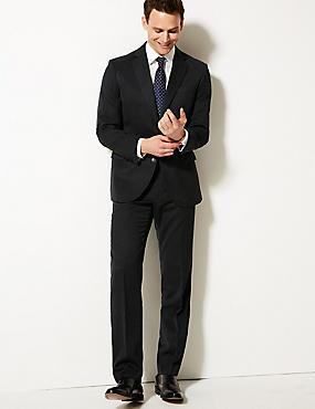 Charcoal Regular Fit Suit, , catlanding
