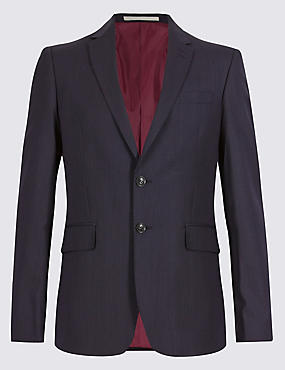 Big & Tall Blue Slim Fit Suit