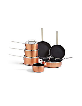 LOFT Copper Effect Cooking Range