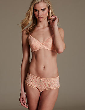 Cotton Rich Padded Set with Underwired Full Cup A-E