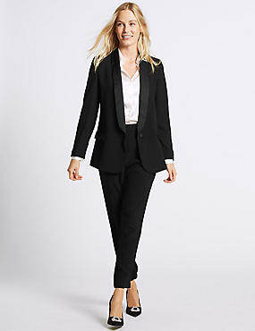 Blazer & Trousers Tapered Leg Suit Set