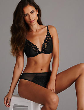Embroidered Set with Non Padded A-DD