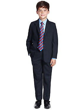 Boys' Schoolwear Outfit with Slim Fit Shirt