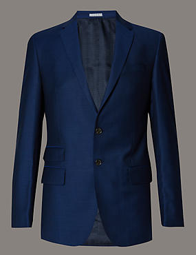 Official England Football Team Blue Slim Fit Suit Including Waistcoat