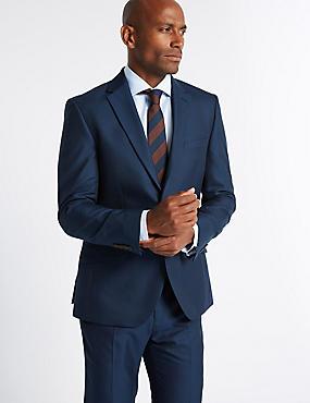 Big & Tall Indigo Modern Slim Fit Suit, , catlanding