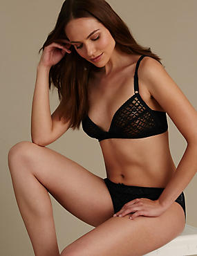 Trellis Lace Set with Non Padded A-C